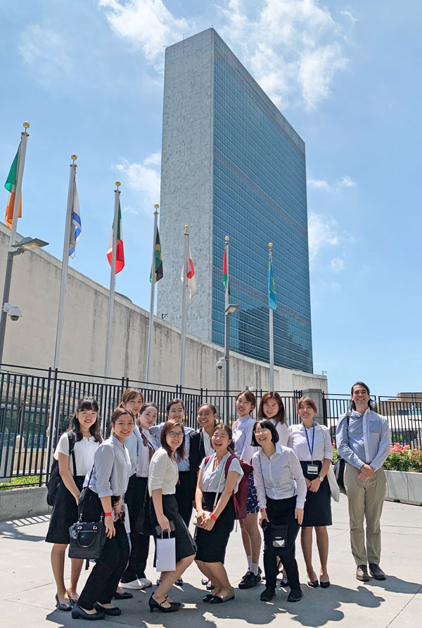 GL2019 participants at the UN Headquarters